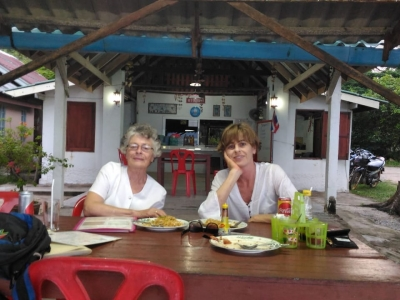 One of the local affordable beach restuarants we frequented often