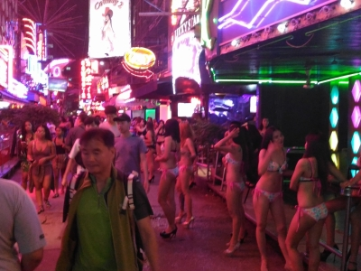 Soi Cowboy girls & of course ladyboys