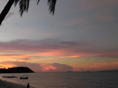 Thailand sunsets on Koh Samui