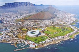 Cape Town Atlantic Seaboard & one of the seven wonders of the world, Table Mountain