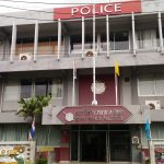 The main, useless police station on Koh Samui, Bo Phut Police station